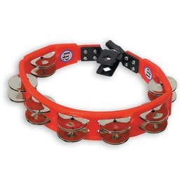 Latin Percussion LP Cyclops Steel Jingles Red Mountable