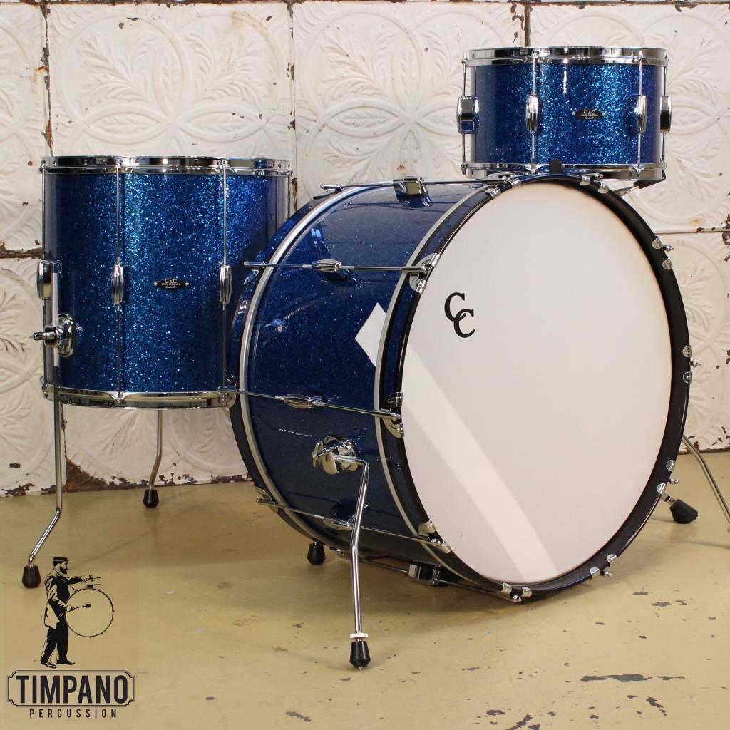 C&C Drum Company Batterie C&C Player Date II Big Band 24-13-16po