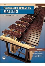 Alfred Music Fundamental Method for Mallets, Book 1, Mitchell Peters