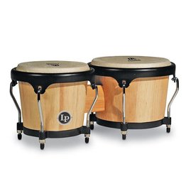 Latin Percussion Bongos LP Aspire Natural Wood