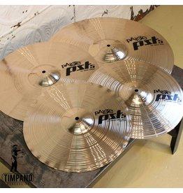 Paiste Ensemble de cymbales Paiste PST5 Rock Pack