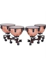 Adams Timbales Adams Revolution, polished copper bowls with fine tuner 23po, 26po, 29po, 32po