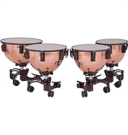 Adams Adams Revolution timpani polished copper bowl with fine tuner 23in, 26in, 29in, 32in