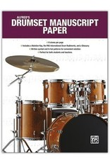 Alfred Music Papier manuscrit pour batterie