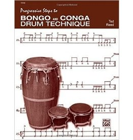 Alfred Music Progressive Steps to Bongo and Conga Drum Technique