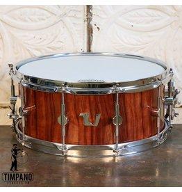 Unix Unix Bubinga Stave Snare Drum 14X5.5in