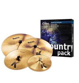 Zildjian Ensemble de cymbale Zildjian Country Pack (4 morceaux)