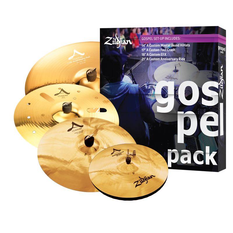 Zildjian Ensemble de cymbales Zildjian Gospel Pack (4 morceaux)