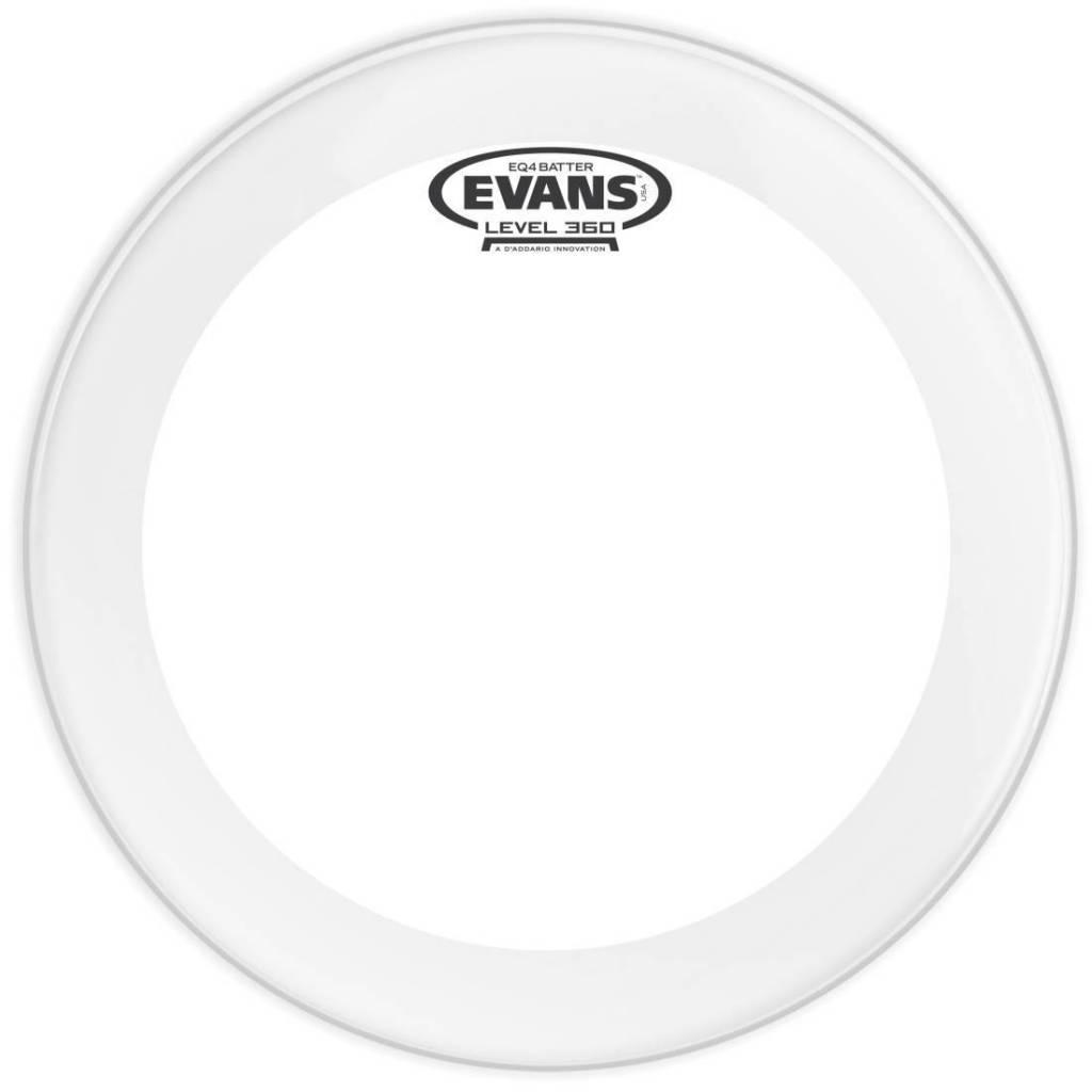 Evans Peau de grosse caisse Evans EQ4 Clear 22po