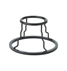 """Remo Remo Pyramid Drum Stand, 9"""" Diameter Base, 7"""" Height, Gloss Black"""