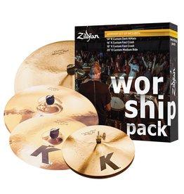Zildjian Ensemble de cymbales Zildjian K Custom Worship (4 morceaux)