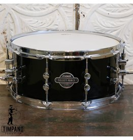 Sonor Sonor Select Force Piano Black Snare Drum 14 X6.5in