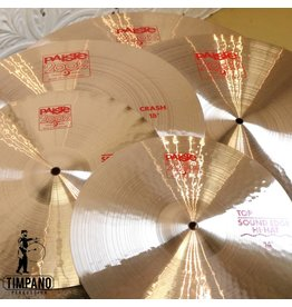 Paiste Paiste 2002 14-20-22in + Free 18in Cymbal Pack