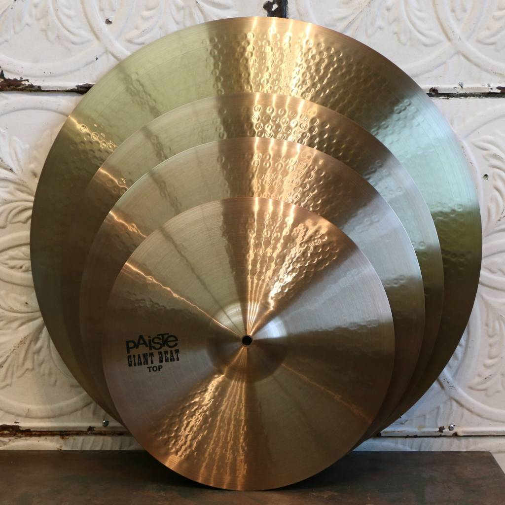 Paiste Ensemble de cymbales Paiste Giant Beat 15-20-24po + 18po gratuite