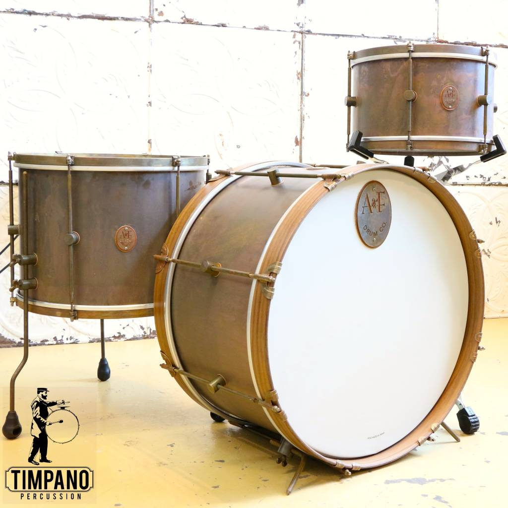 """A&F Drum Co A&F The Royal Drum Kit 22-13-16"""""""
