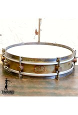 A&F Drum Co Caisse claire A&F Rude Boy Raw Brass 13X3po