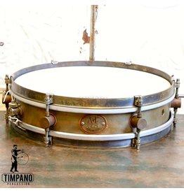 A&F Drum Co Caisse claire A&F Rude Boy en laiton 13X3po