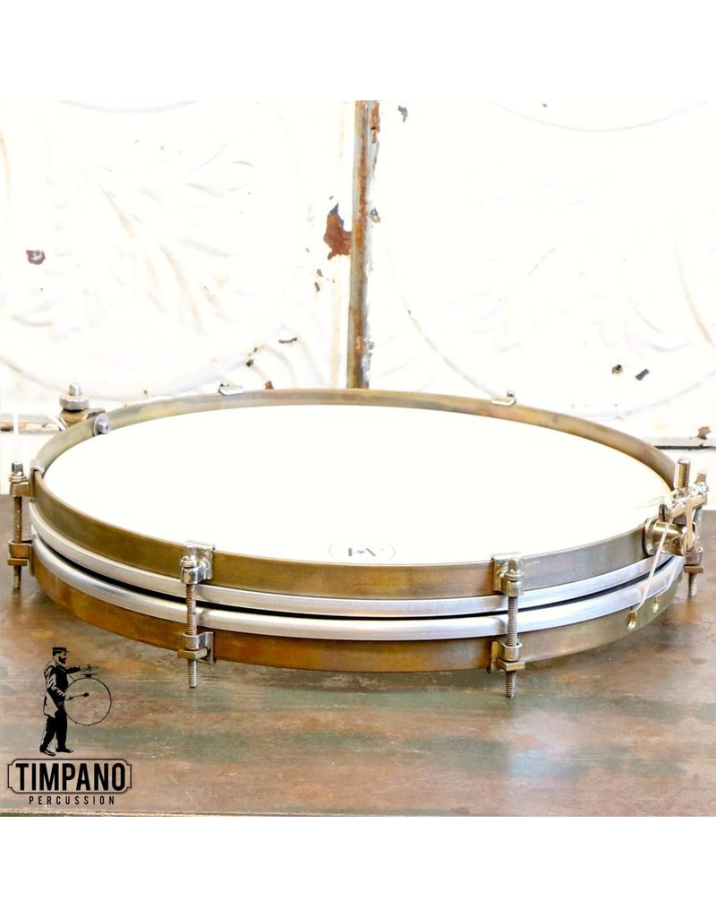 A&F Drum Co Caisse claire A&F Pancake 14X1.5po