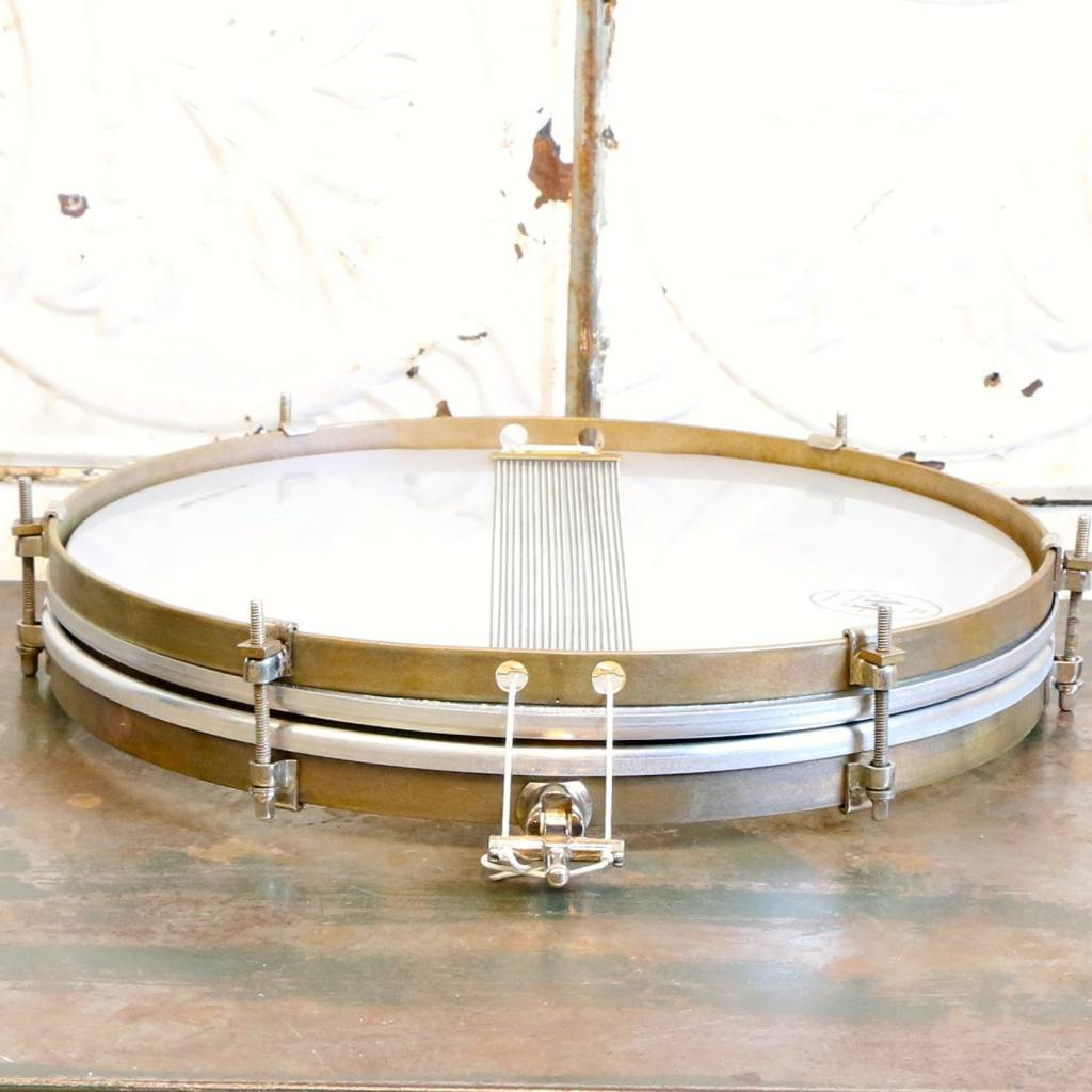 A&F Drum Co Caisse claire A&F Pancake Brass 14X1.5po