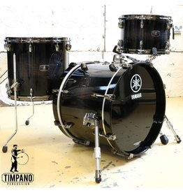 Yamaha Yamaha Live Oak Black Shadow Sunburst Drum Kit 18-12-14in