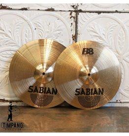 Sabian Cymbales hi-hat usagées Sabian B8 14po