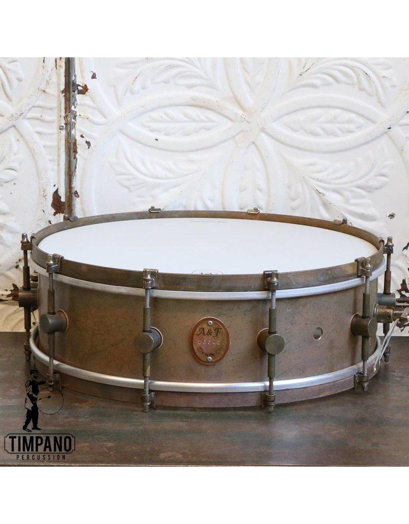A&F Drum Co Caisse claire A&F Standard Brass 16X5po