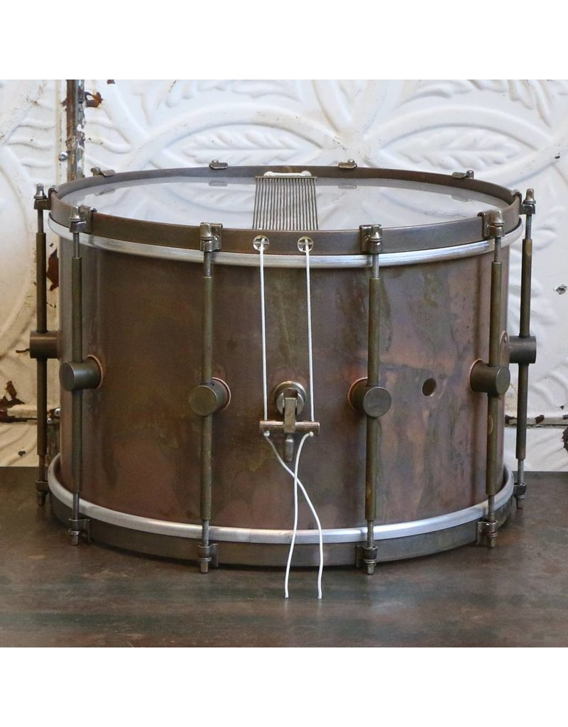 A&F Drum Co Caisse claire A&F Standard Brass 14X9po