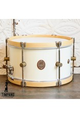 A&F Drum Co A&F Snare Drum Antique White Maple 14 x8in