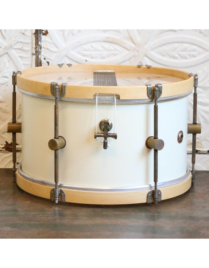 A&F Drum Co A&F Snare Drum Antique White Maple