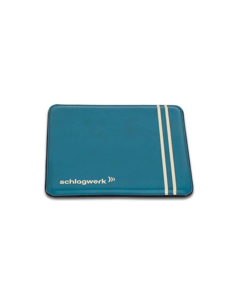 "Schlagwerk Schlagwerk cajon Pad ""retro"" Teal Blue"