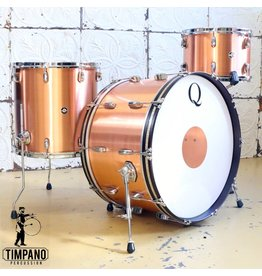 Q Drum Company Batterie Q Drum Copper 13x9, 16x15, 24x14