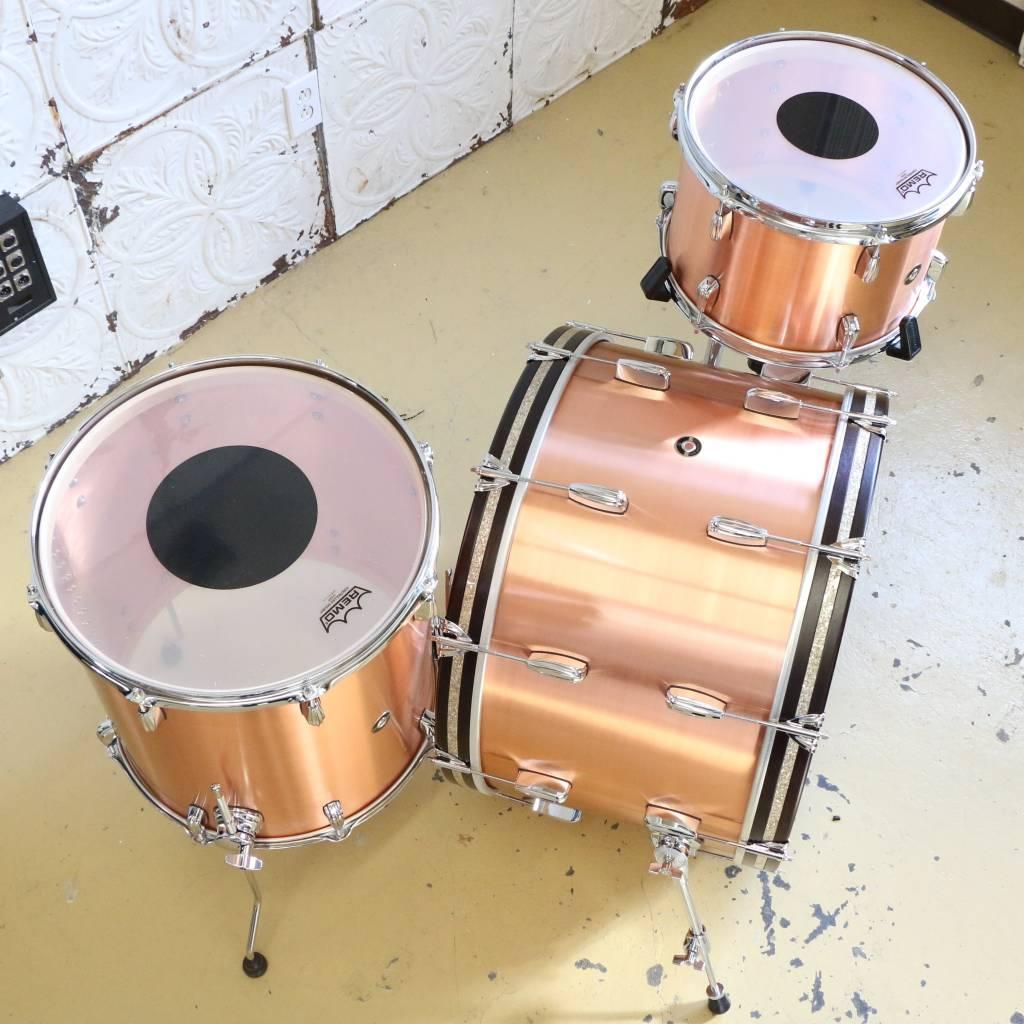 Q Drum Company Batterie Q Drum Copper 13x9, 16x15, 24x14