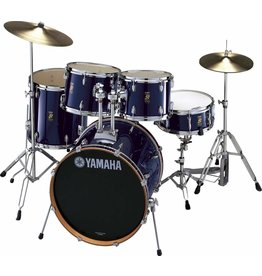 Yamaha Batterie Yamaha Rydeen 20-10-12-14po + caisse claire 14po et pieds Fine Blue