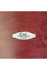 C&C Drum Company Batterie C&C Player Date II Cherry Cola Stain 22-13-16po