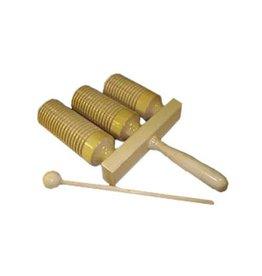Mano Block de bois Mano 3 sons avec baguette