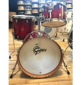 Gretsch Batterie Gretsch Catalina Club Jazz 8x12 14x14 14x18 Gloss Crimson Burst