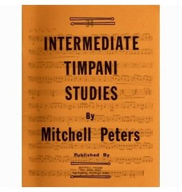 Try Publications Intermediate Timpani Studies, Mitchell Peters
