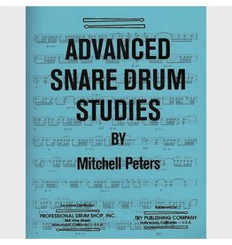 Try Publications Advanced Snare Drum Studies, Mitchell Peters