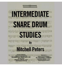 Try Publications Intermediate Snare Drum Studies, Mitchell Peters