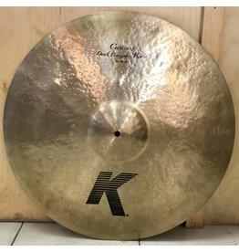 Zildjian Cymbale ride usagée Zildjian K Custom Dark Complex 21po