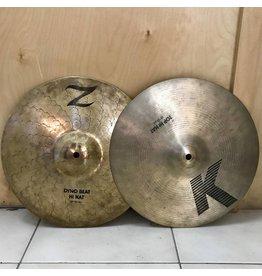 Zildjian Used Zildjian hi hat K/Z combo 13in