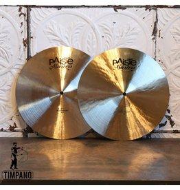 Paiste Cymbales hi-hat Paiste Masters Thin 14po