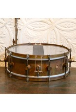 A&F Drum Co A&F Satandard Raw Brass Snare Drum 14X5in