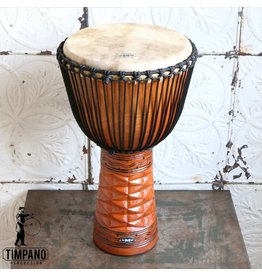 GMP Djembe Pro Series 60cm (Diamond Carving Natural)