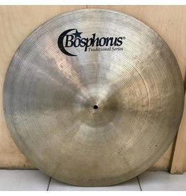Bosphorus Cymbale ride usagée Bosphorus Traditional Thin 22po