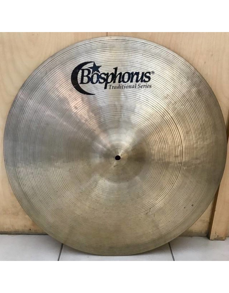 Bosphorus Used Bosphorus Traditional Thin ride Cymbal 22in