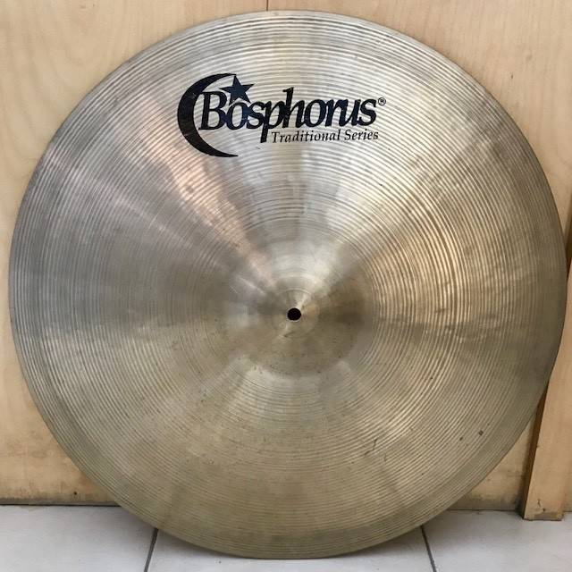 Bosphorus Used Bosphorus Traditional Thin ride Cymbal 22in