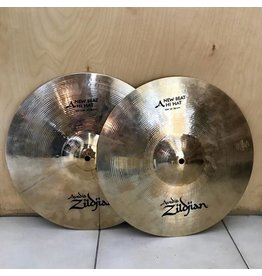 Zildjian Cymbales hi-hat usagées Zildjian Avedis New Beat 14po