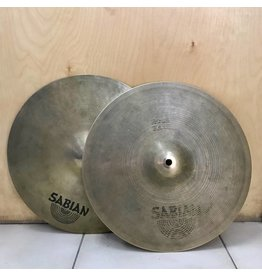 Sabian Cymbales hi-hat usagées Sabian Rock 14po
