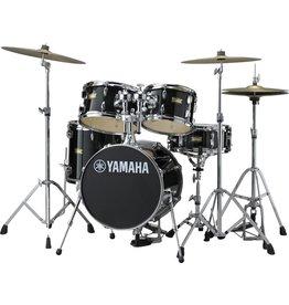 Yamaha Batterie Yamaha Manu Katche Junior Kit 16-10-12-13po + caisse claire 12po avec pieds et support de toms